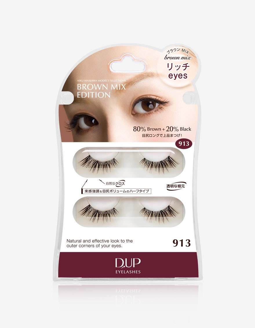 Eyelashes Brown Mix 913